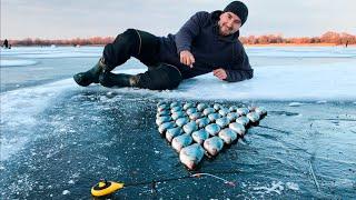 ТРОФЕИ НА САЛО ДУМАЛ ЛЕЩ А ОНО Зимняя рыбалка на Поплавочную удочку