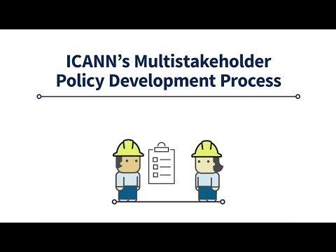 ICANN's Multistakeholder Policy Development Process | English