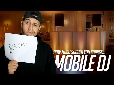 Mobile DJ Tips: How Much Should You Charge To DJ? | DJ Pricing