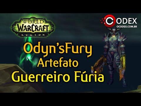 Warbringer - World of Warcraft Legion - Guerreiro Fúria