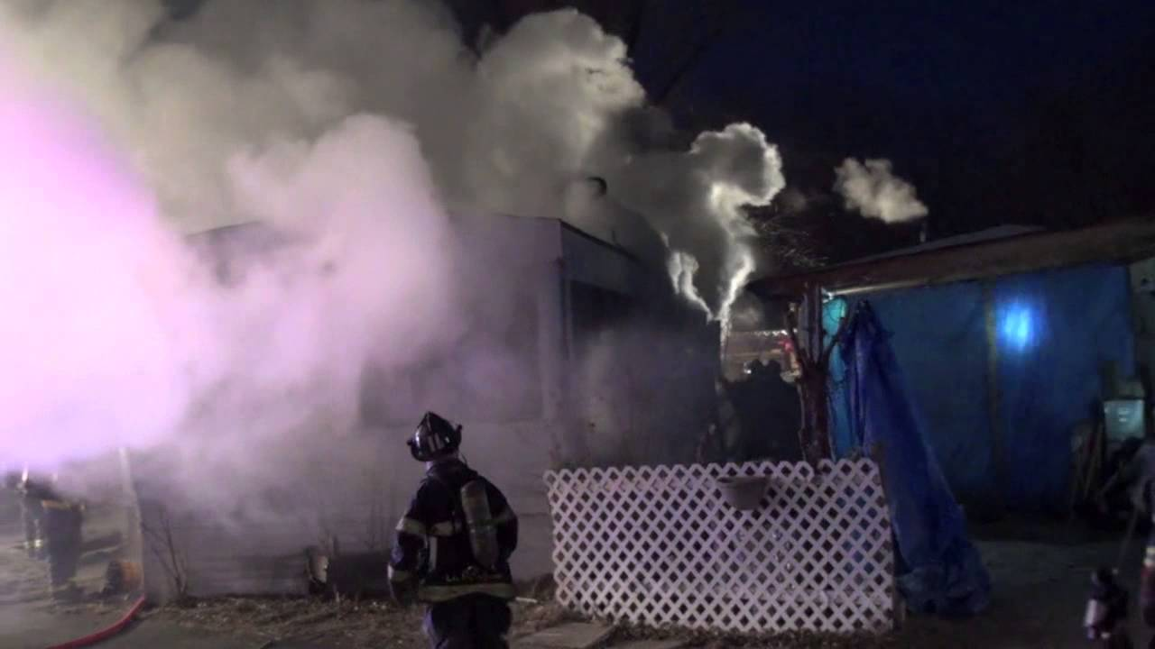 Mobile Home Fire At Oasis Trailer Park On North Elmhurst Rd Des Plaines