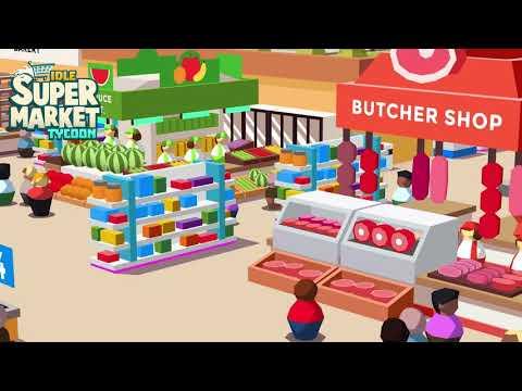 Idle Supermarket Tycoon – Tiny Shop Game