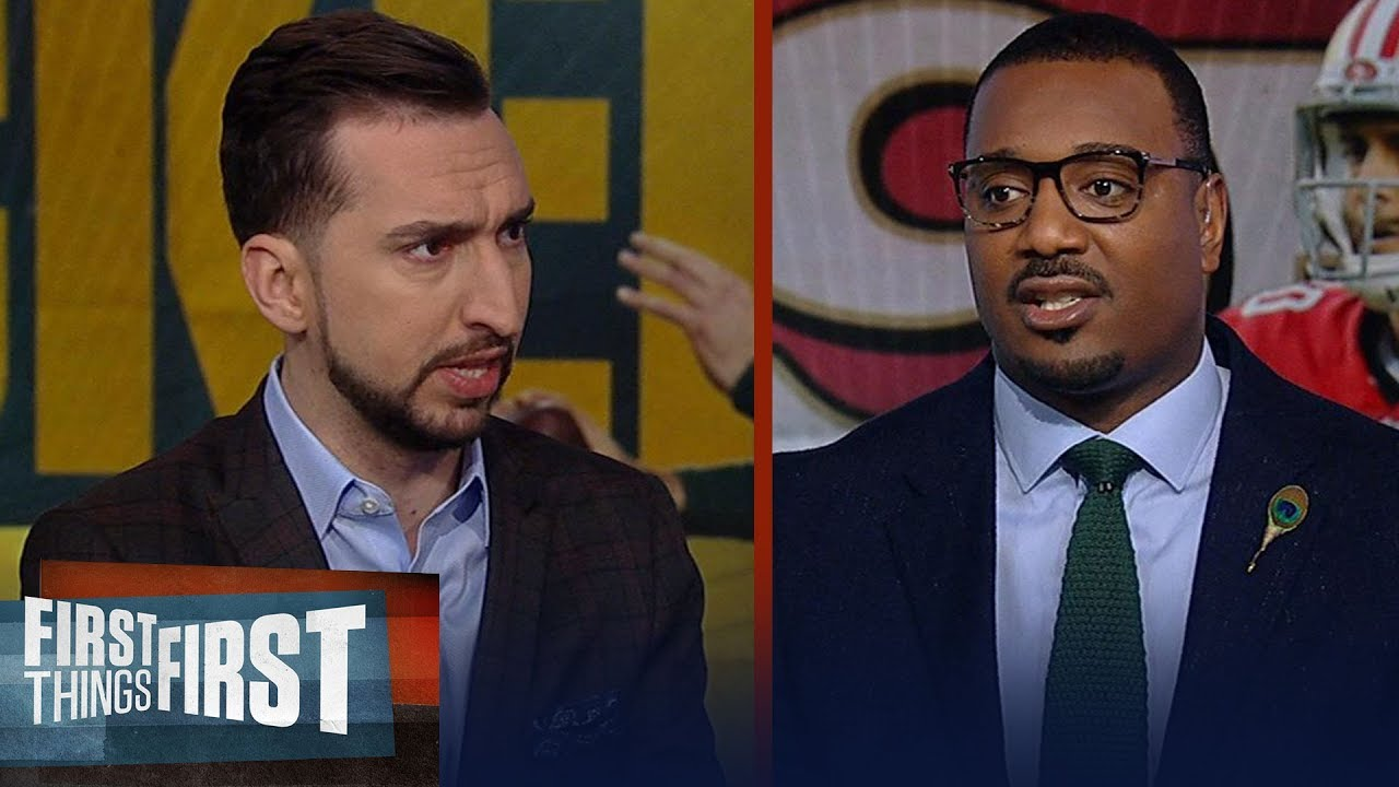 Nick Wright & Chris Canty believe Rodgers & Packers could beat 49ers | NFL | FIRST THINGS FIRST