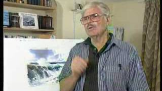DVD - Seascapes in Watercolour with E John Robinson