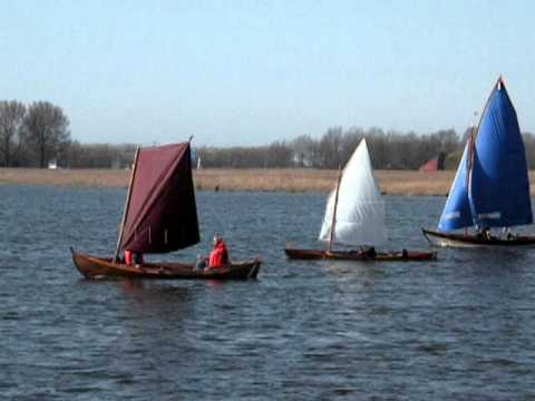 MacGregor sailing canoe and other Iain Oughtred boats