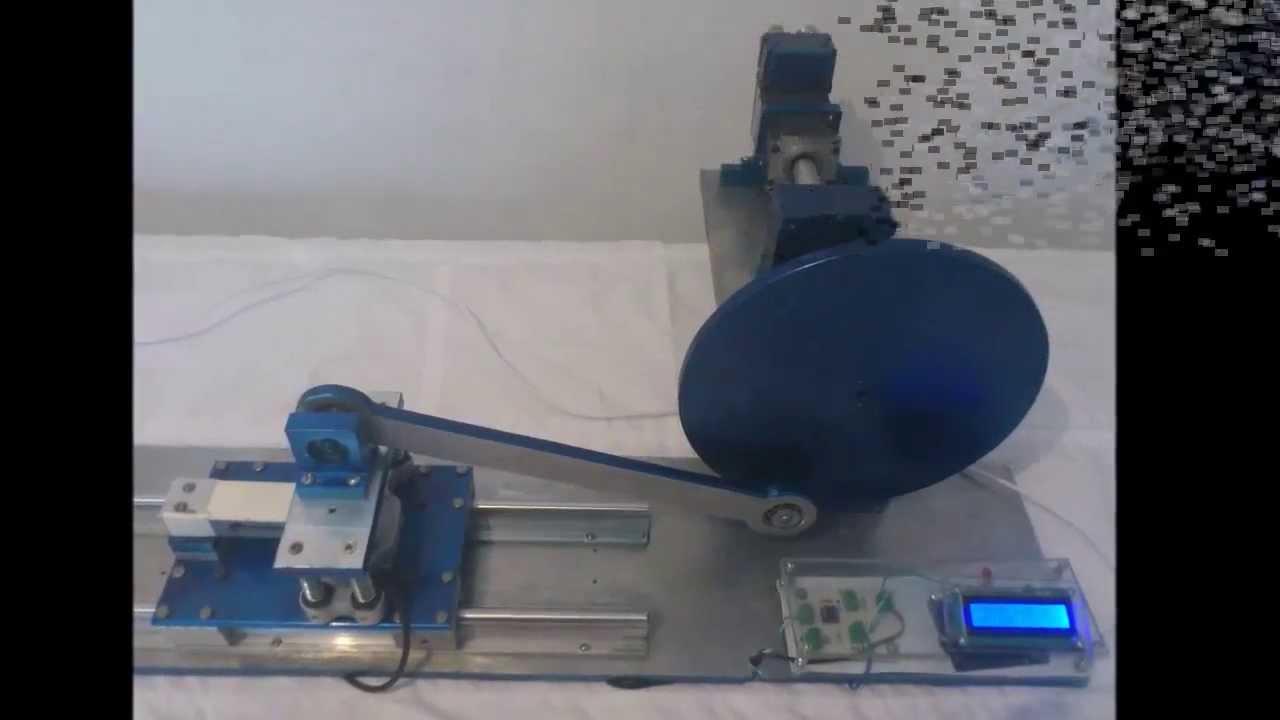 Mecanismo biela manivela corredera parte 2 youtube - Mecanismo para reloj de pared ...