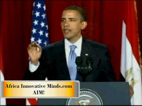 Africa Innovative Minds, Obama's words AIM!