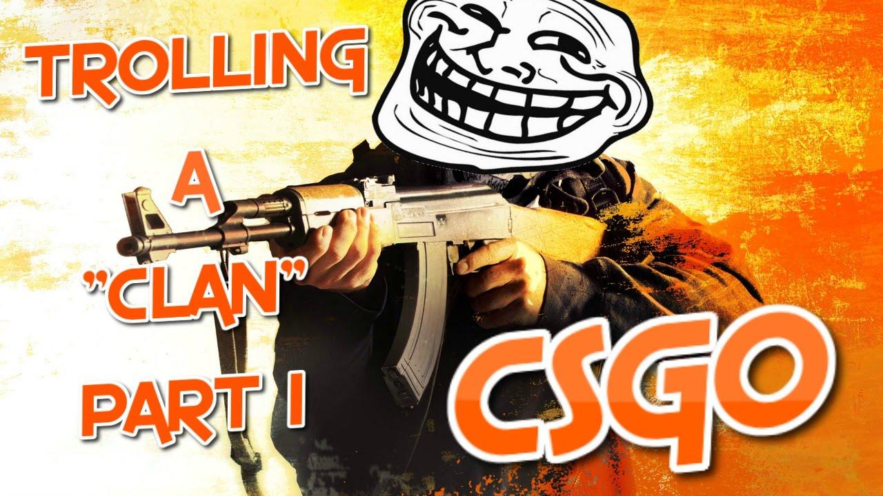 how to make a cs go clan