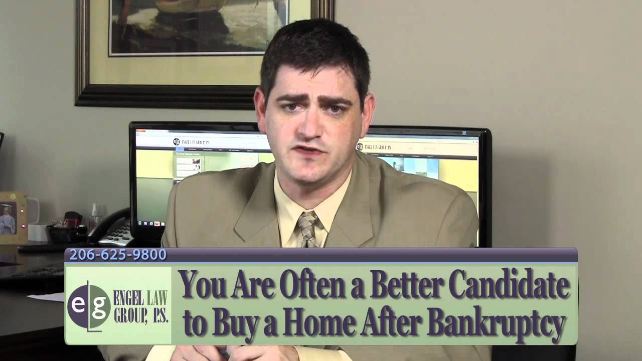 how soon can i buy a home after bankruptcy seattle bankruptcy lawyer eric engel explains youtube. Black Bedroom Furniture Sets. Home Design Ideas