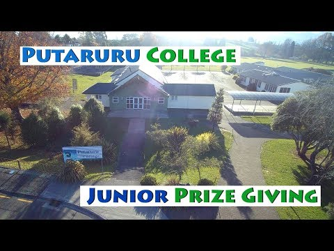 Putaruru College Junior Prize Giving (Live Stream)