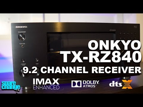 ONKYO TX-RZ840 9.2 Channel IMAX Enhanced, Dolby Atmos, DTS-X Receiver