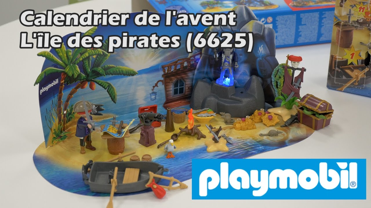 playmobil 6625 ile des pirates calendrier de l 39 avent. Black Bedroom Furniture Sets. Home Design Ideas