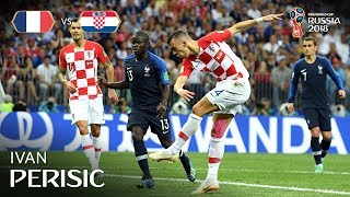 ivan perisic goal  france v croatia - 2018 fifa world cup final