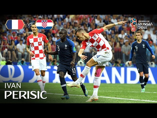 Ivan PERISIC Goal – France v Croatia - 2018 FIFA World Cup™ FINAL