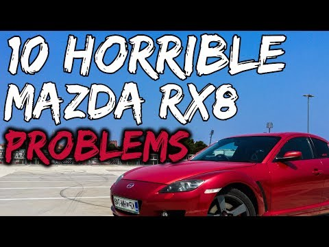 10 problems that give the Mazda Rx8 a bad reputation