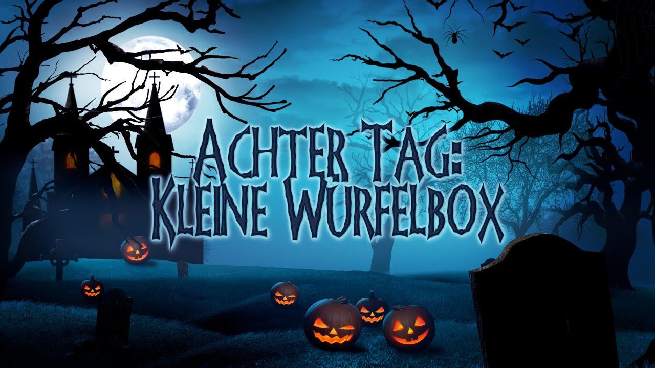 8 Tage Halloween - Tag8 - Kleine Würfelbox mit Stampin' Up!