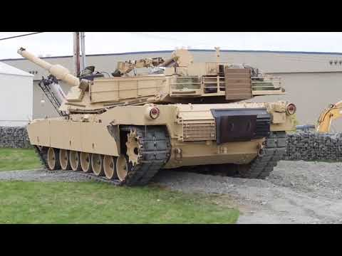 M1A2 turbine shutdown - The real one and the Tamiya