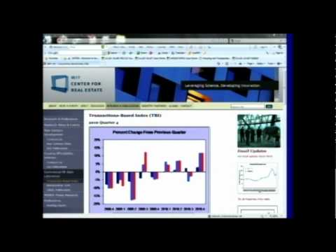 MIT CRE 2011 Real Estate Symposium - David Geltner on Derivatives 1 of 3