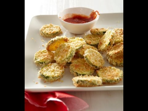How to Make Baked Zucchini Chips for Children -  Snacks Recipes - Weelicious