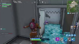 Using red night before it comes a noob skin ( Fortnite battle royal)