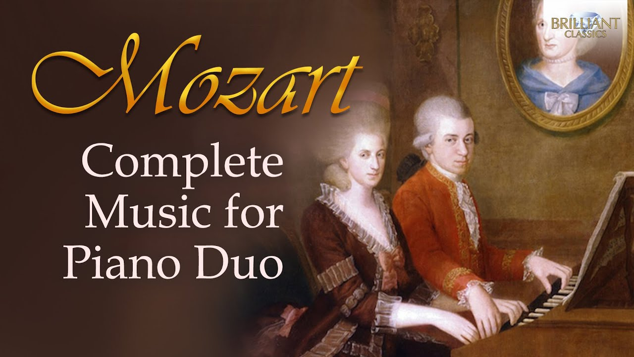 Mozart Complete Songs For Piano Duos