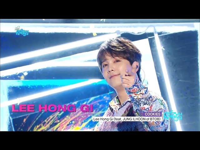 [Comeback Stage] LEE HONG GI -  COOKIES (Feat. JUNG ILHOON) , 이홍기 - COOKIES Show Music core 20181020