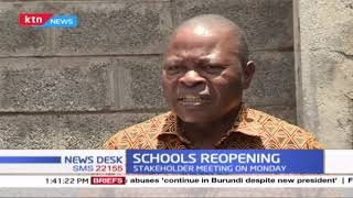 Stakeholder meeting on Monday to deliberate on reopening of schools