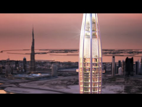Why Dubai Creek Tower Stopped