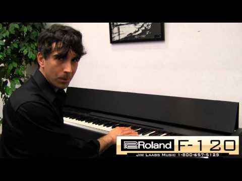 Roland F-120 Digital Piano Review