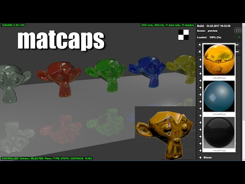 Matcaps Quick & Easy Materials For The 3D Web What Are They? How Do They Work? Blender & blend4web