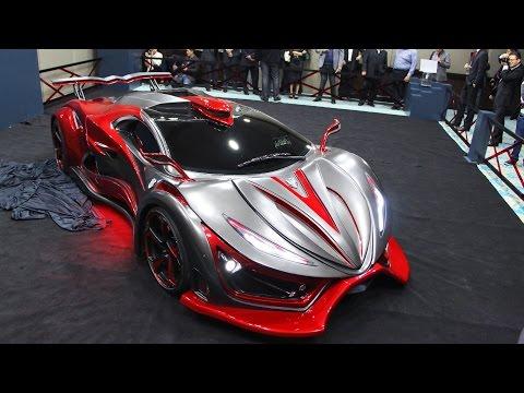 Presentación del Inferno Exotic Car en México
