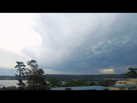 Cloud Formations over Gosford Waterfront