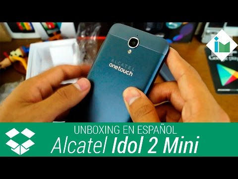 Alcatel One Touch Idol 2 Mini - Unboxing en español