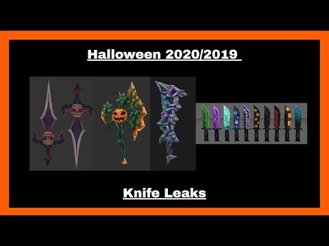 Roblox Halloween 2020 Prize Leaks Halloween 2020/2019 Knife Leaks (ROBLOX Assassin!)   YouTube
