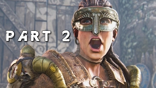 FOR HONOR Walkthrough Gameplay Part 2 - Siv the Ruthless (Viking Campaign)