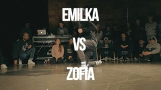 EMILKA VS ZOFIA - BGIRL BATTLE  QUATER FINAL - ART OF BREAKING 2016