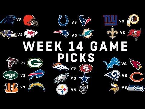 Week 14 NFL Game Picks | NFL
