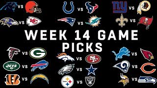 Week 14 NFL Game Picks | NFL