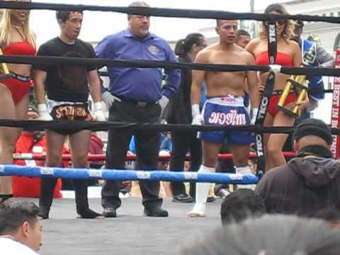 "IKF ""Legends"" Muay Thai Championship Abraham Hernandez vs. Edgar Diaz"