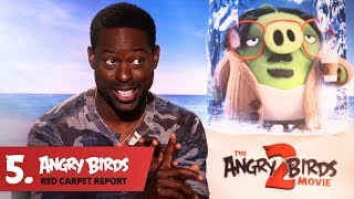 Sterling K. Brown is a Delight! - Angry Birds Red Carpet Report Ep.5