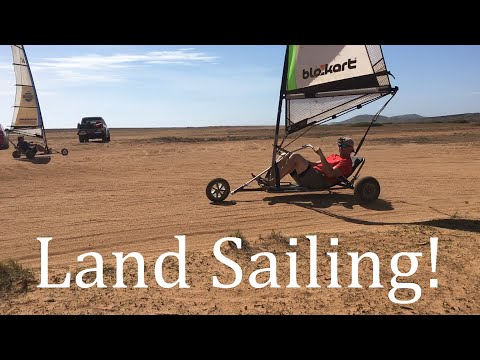 Land Sailing in Aruba!