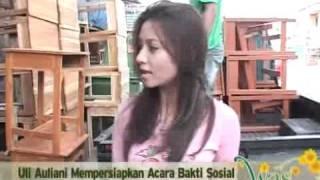 Uli Auliani Sumbang Meja dan Kursi Untuk Sekolah Madrasah - cumicumi.com Mp3