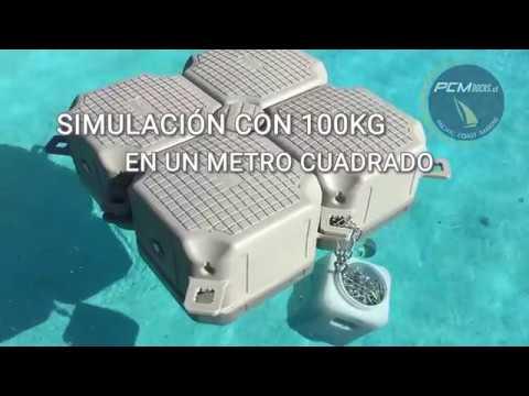Muelle Flotante PCM Docks - Prueba De Calado