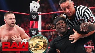Multiple new 24/7 Champions crowned: Raw, Aug. 12, 2019