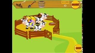Веселая ферма. Игры ферма. Игры для детей. Веселая игра с животными.