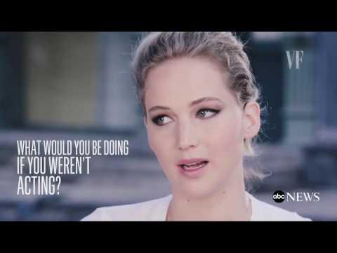 Jennifer Lawrence Interview on  Rumored Boyfriend Darren Aronofsky
