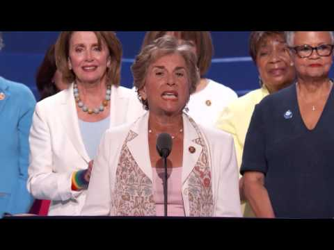 House Democratic Leader Nancy Pelosi at DNC 2016