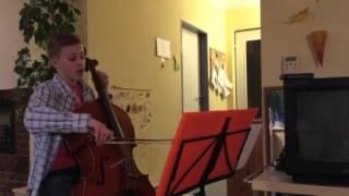 Quodlibet: Solo Kanon (Cello und Gesang): Es tönen die Lieder, C.A.F.F.E.E, Heut kommt der Hans zu