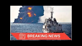 [Breaking News] Oil spill from sunken tanker is expanding in East China Sea