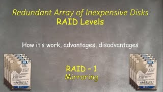 RAID-1: What is this, how it's work , how to setup and recover in Windows